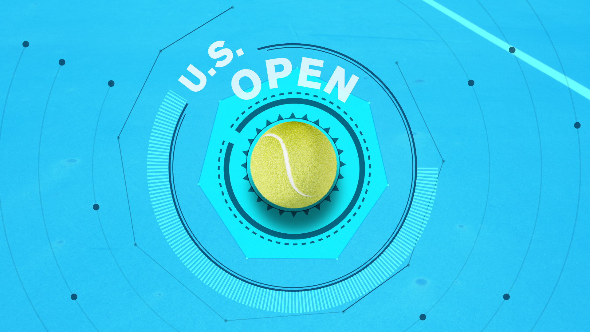 US Open sports broadcasting pack
